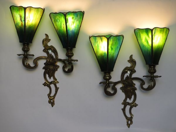Art Nouveau Wall Chandelier